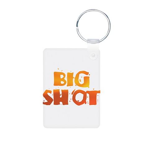 BIG SHOT Aluminum Photo Keychain