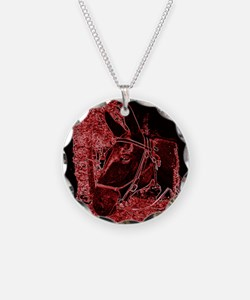 Red Mule Necklace