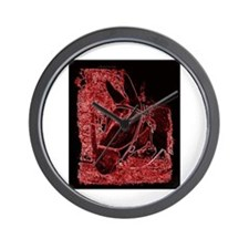 Red Mule Wall Clock