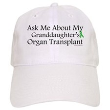 Ask Me Granddaughter Trans Baseball Cap