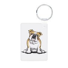 Cute English Bulldog Keychains