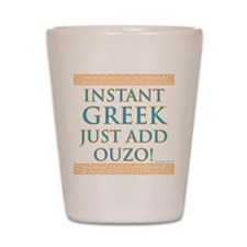 Instant Greek Shot Glass