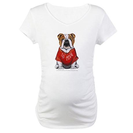 Team Bulldog Maternity T-Shirt