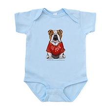 Team Bulldog Infant Bodysuit