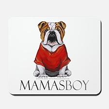 Mamas Boy Bulldog Mousepad