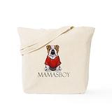 English bulldog art Canvas Bags