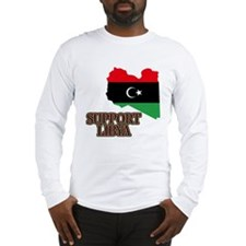 Support Libya 2011 Long Sleeve T-Shirt