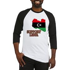 Support Libya 2011 Baseball Jersey