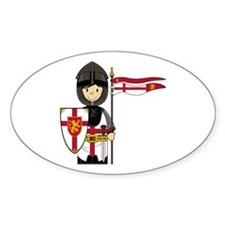 Medieval Crusader Knight Decal