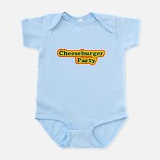 Cheeseburger Party Infant Bodysuit