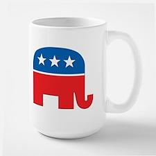 Republican Logo Ceramic Mugs