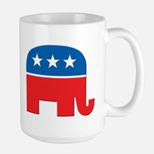 Republican Logo Large Mug