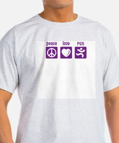 Peace/Love/Run T-Shirt