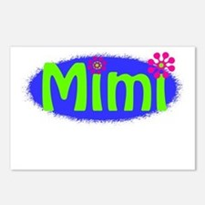 Bright Mimi Postcards (Package of 8)