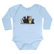 Scottie 5 Long Sleeve Infant Bodysuit