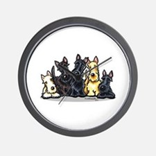 Scottie 5 Wall Clock