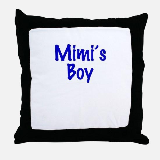 Mimi's Boy Throw Pillow