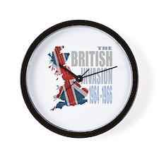 British Invasion Wall Clock