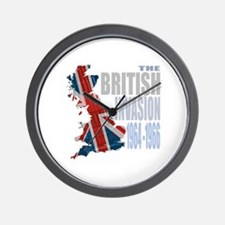 British Invasion Wall Clock