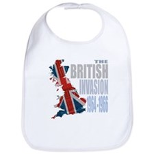 British Invasion Bib