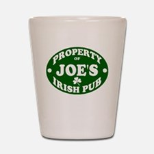 Joe's Irish Pub Shot Glass
