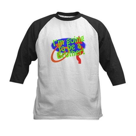 Going To Be A Brother Kids Baseball Jersey