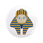 "Egyptian Pharaoh King 3.5"" Button (100 Pk)"