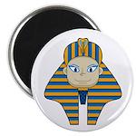 """Egyptian Pharaoh King 2.25"""" Magnet (10 Pk)"""