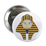 "Egyptian Pharaoh King 2.25"" Button (10 Pk)"