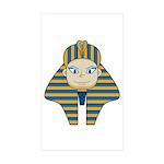 Egyptian Pharaoh King Sticker (10 Pk)