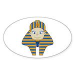 Egyptian Pharaoh King Sticker (50 Pk)
