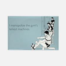 Gym's Lamest Machines Rectangle Magnet