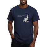 Gym's Lamest Machines Men's Fitted T-Shirt (dark)