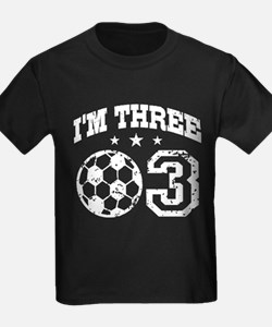 Three Year Old Soccer T