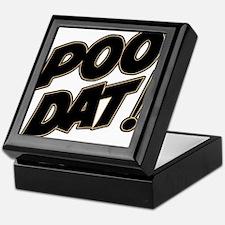 Poo Dat Keepsake Box