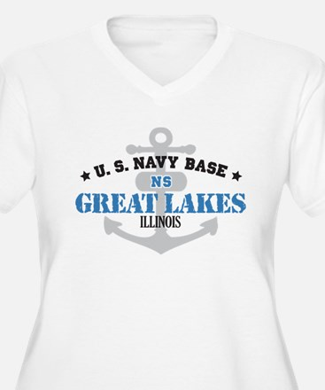 US Navy Great Lakes Base T-Shirt