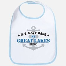 US Navy Great Lakes Base Bib