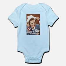 Become A Nurse Infant Bodysuit