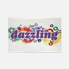 Dazzling Universe Rectangle Magnet