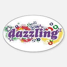 Dazzling Universe Sticker (Oval)