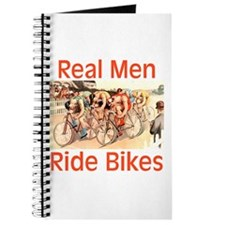 Real Men Ride Bikes Journal
