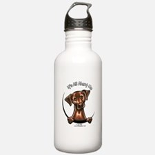 Chocolate Lab IAAM Water Bottle