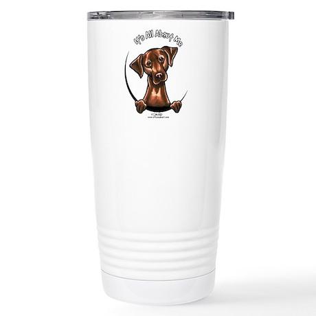 Chocolate Lab IAAM Stainless Steel Travel Mug
