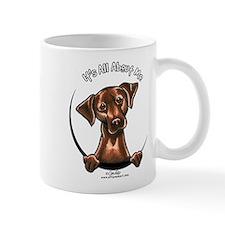 Chocolate Lab IAAM Mug