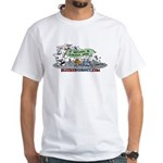 National Robotics Week Parade White T-Shirt