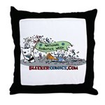 National Robotics Week Parade Throw Pillow