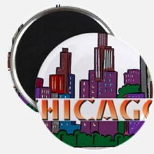 Chicago Skyline Magnets