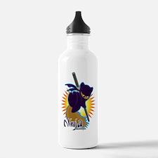 Ninja Squirrel Water Bottle
