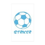 Soccer Striker Sticker (10 Pk)