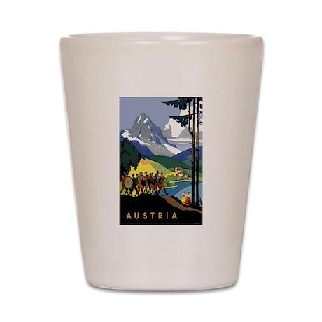 Austria Band Travel Shot Glass